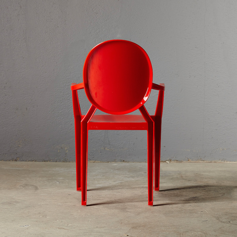 Kartell-Lou-Lou-Baby-Ghost-Chair-Red-1