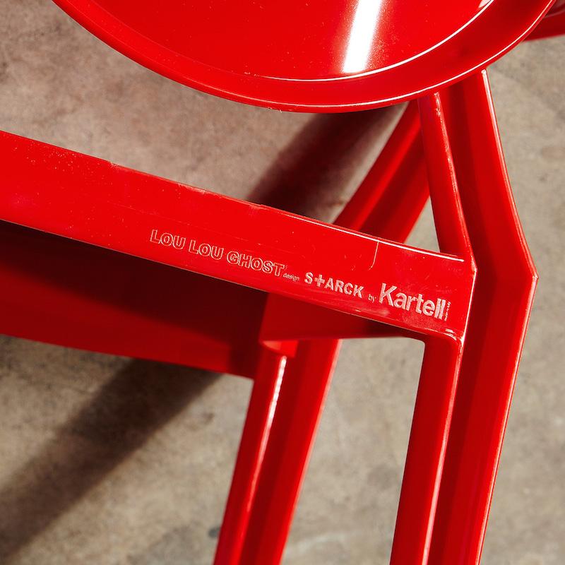 39 lou lou 39 by kartell design consigned. Black Bedroom Furniture Sets. Home Design Ideas