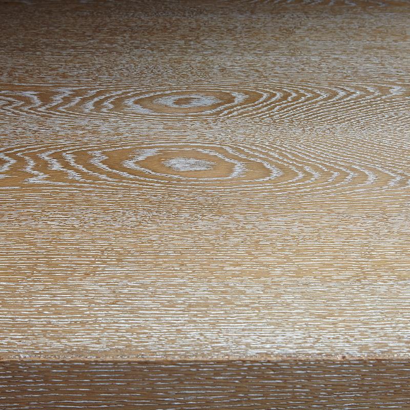 Bespoke Rectangular Limed Oak Table