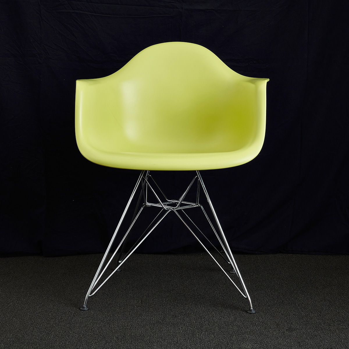 Charles ray eames dar chair x 6 design consigned for Design x chair