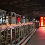 TomDixon Beat Pendant lights at mama shelter paris