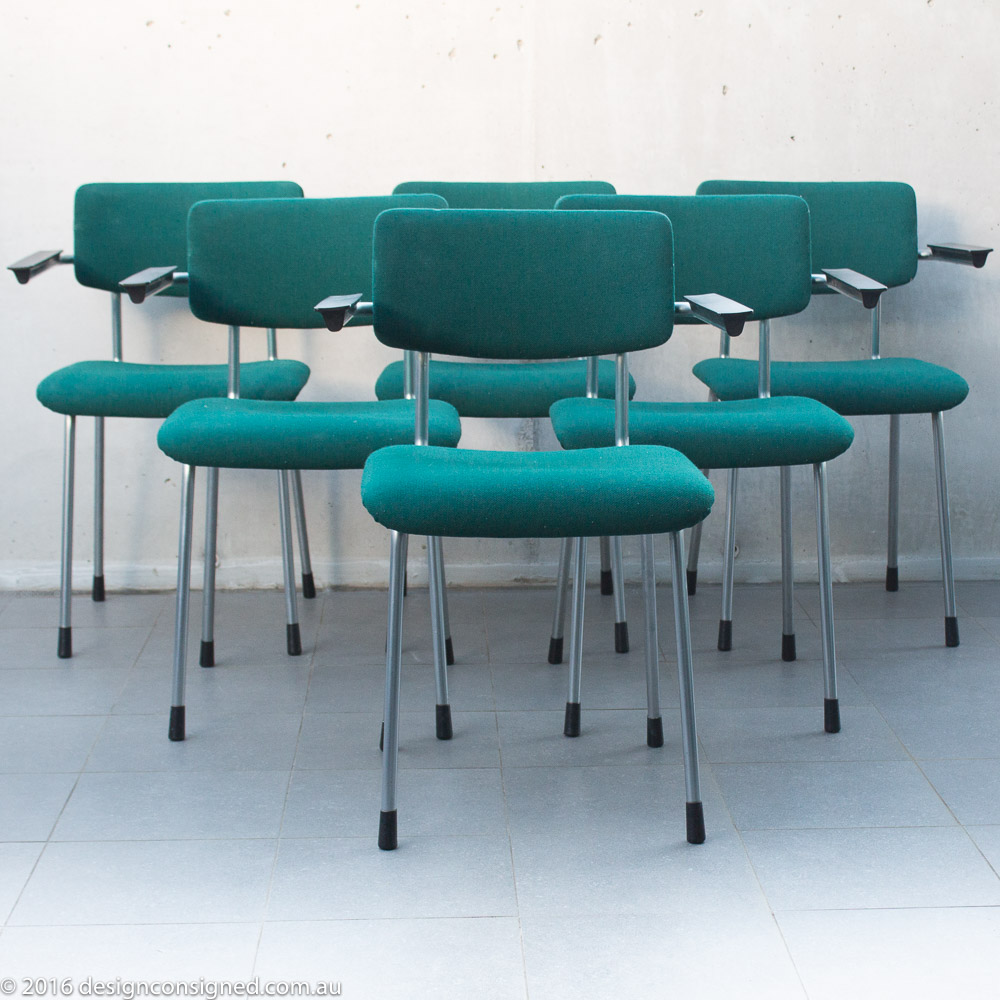 designconsigned gispen chairs set of six