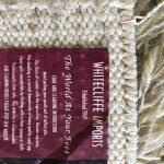 Rug wool shag oatmeal preowned