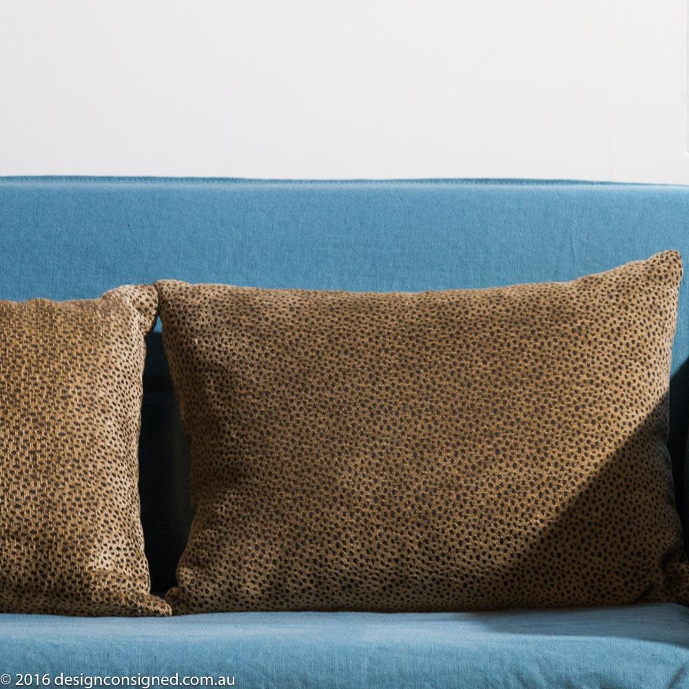 'leo' velvet cushions x 8
