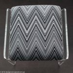 designer bathroom stool Missoni fabric