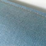 sofa slip cover detail