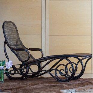 antique Thonet chaise lounge