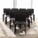 set of ten Molteni glove chairs