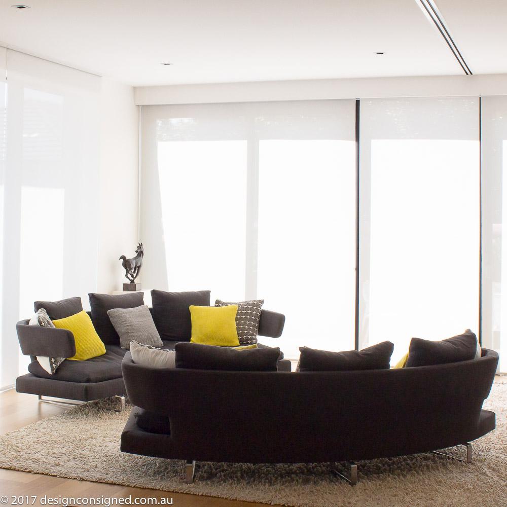 2 arne sofas by Antonio Citterio