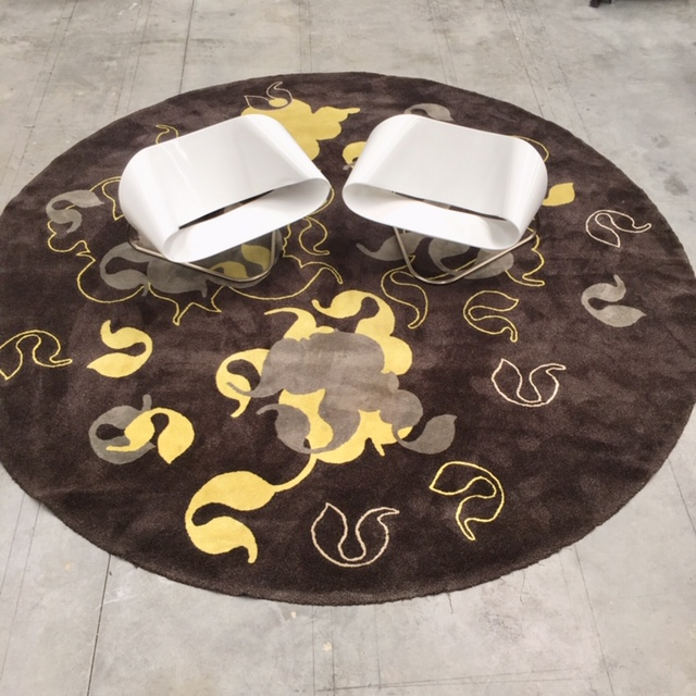 round rug at design Consigned