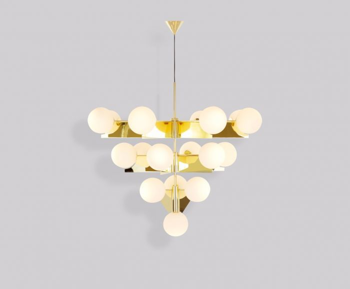 as new preowned tom dixon plane chandelier