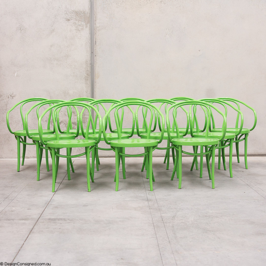 thonet chairs x 10