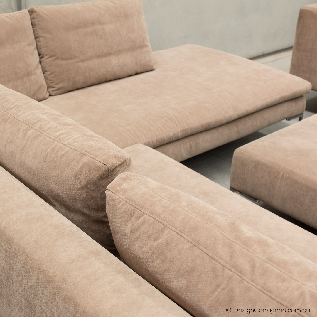 BBItalia Charles four piece sectional sofa