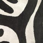 detail of safari rug
