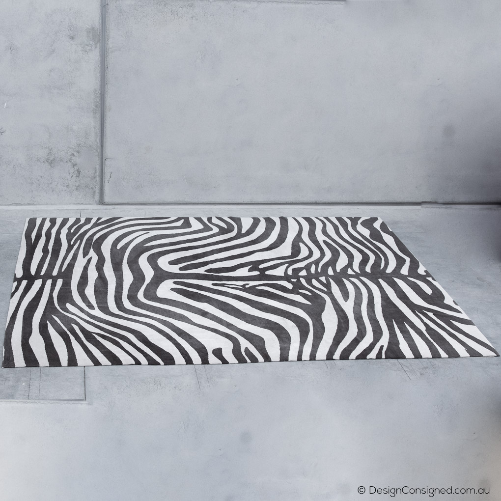 Behruz safari rug at www. design consigned .com.au
