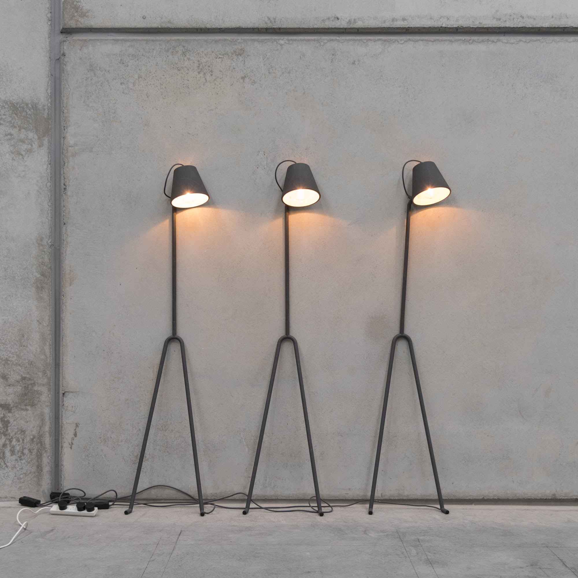 Design House Stockholm floor lamps by Marie Louise Gustafsson