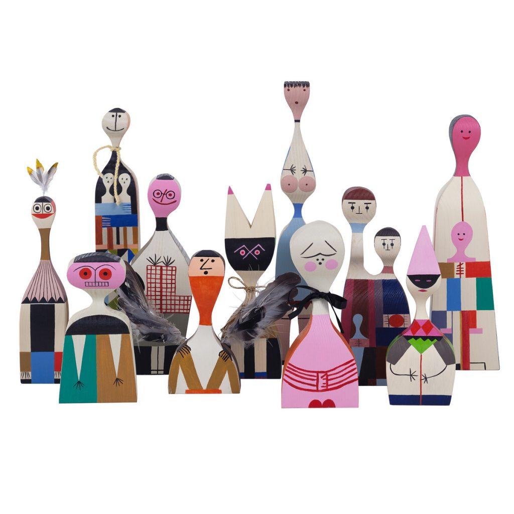 Vitra dolls by Sandro Girard