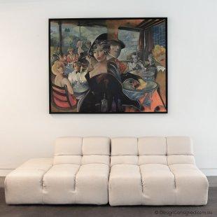 BBItalia tufty time sofa x 2 white