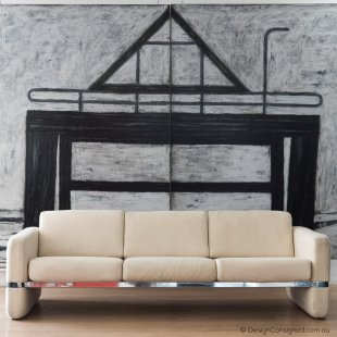 Pierre Cardin sofa at Design Consigned