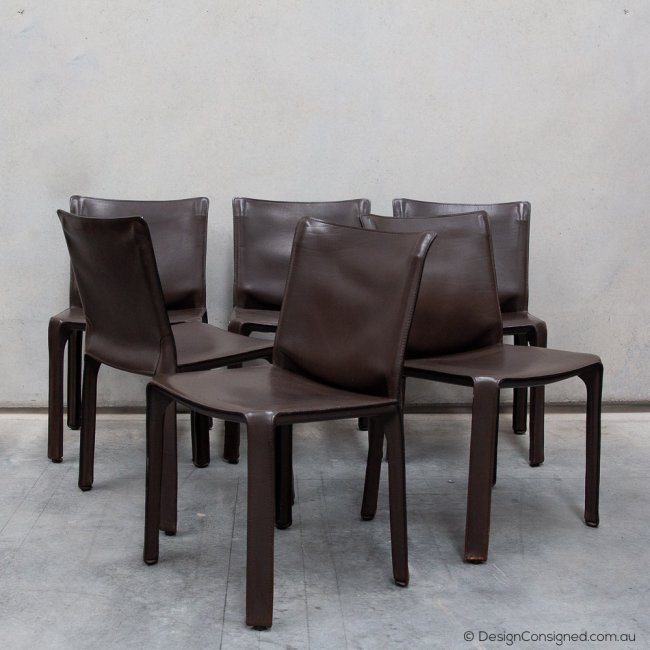 cassina 412 cab chairs at Design Consigned