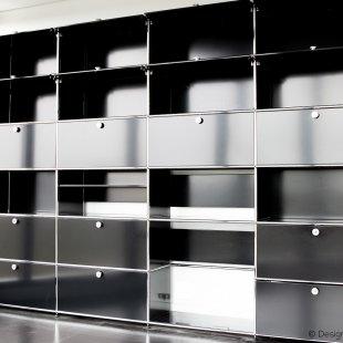 large USM cabinet black