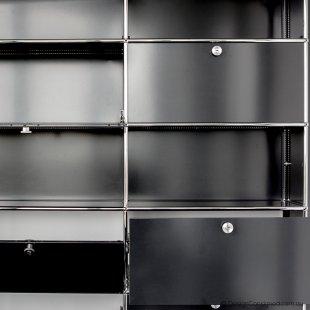 collect USM shelving black