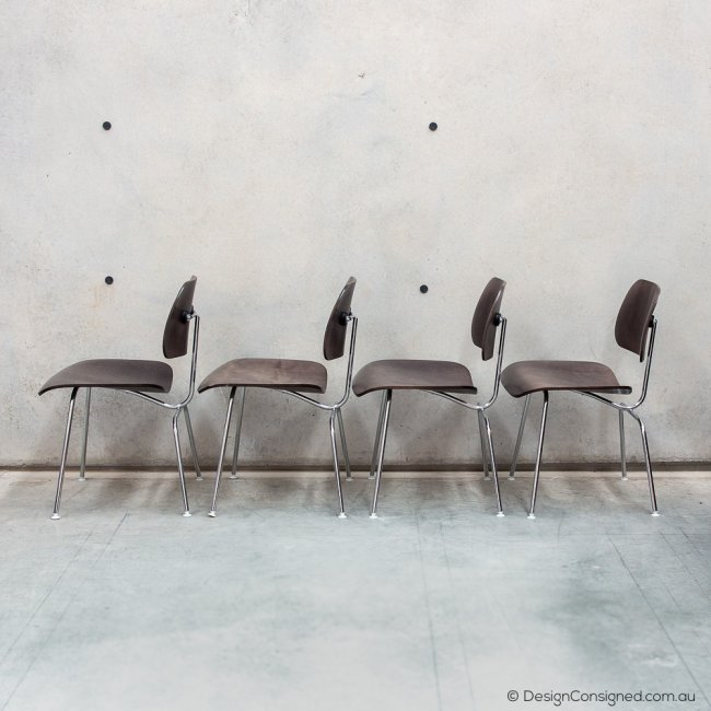 Charles and Ray Eames plywood set