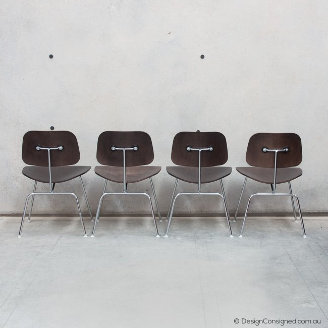 Authentic Eames plywood chairs