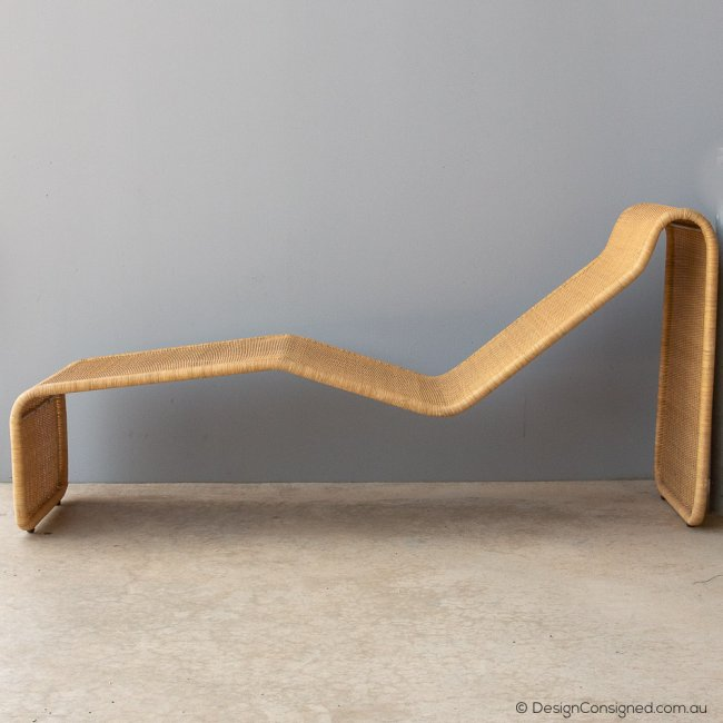 cane daybed by Tito Agnoli