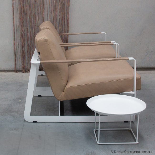 poliform armchairs at Design Consigned