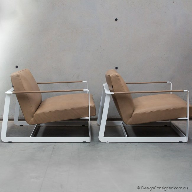 Gaston lounge chair by Van Duysen for poliform