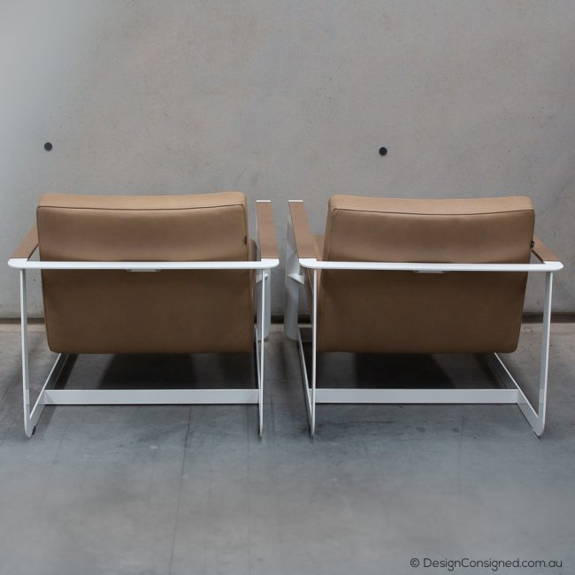 back view Gaston chairs at Design Consigned