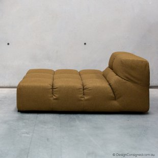Tufty time chaise at Design Consigned