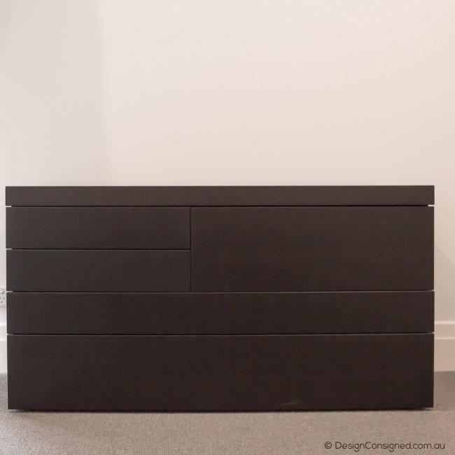 Poliform drawers wenge