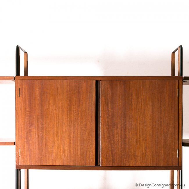 Mid century designer shelving