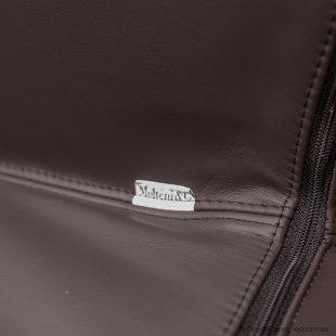 Molteni leather designer chairs