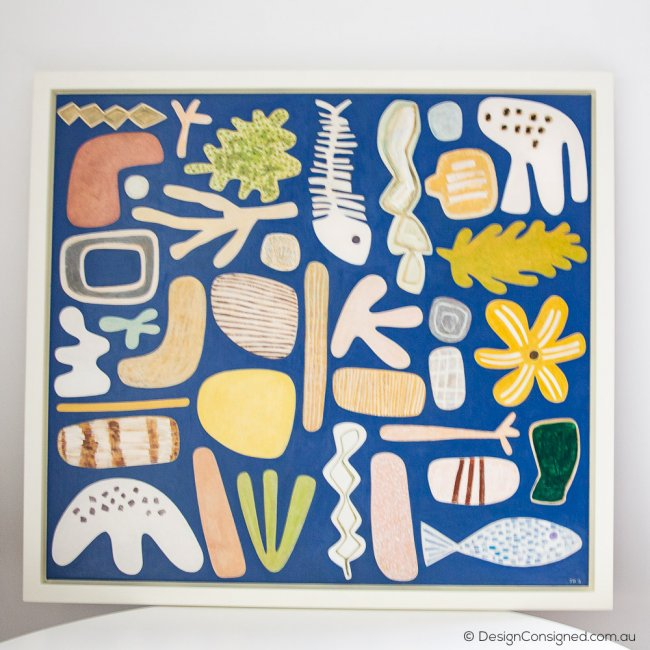 Beach Artifacts by Jill Noble Australian Art
