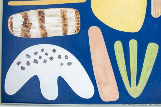 coastal home Australian art by Jill Noble