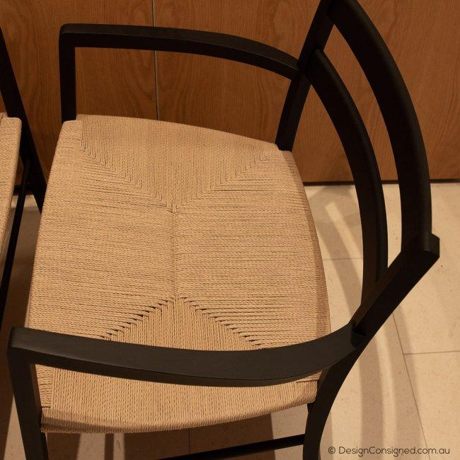 designer papercord chair