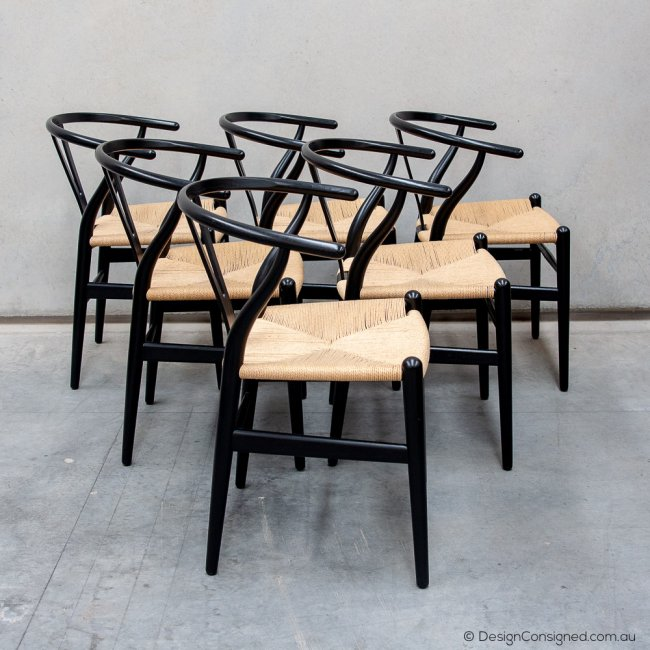 papercord chairs by Hans Wegner